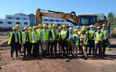 Groundbreaking Event for new Hi-tech and Digital Centre at South Devon College