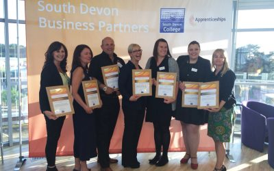 South Devon College recognise employer contribution to apprenticeships