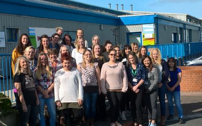 First cohort of Trainee Nursing Associates celebrate completing foundation degree