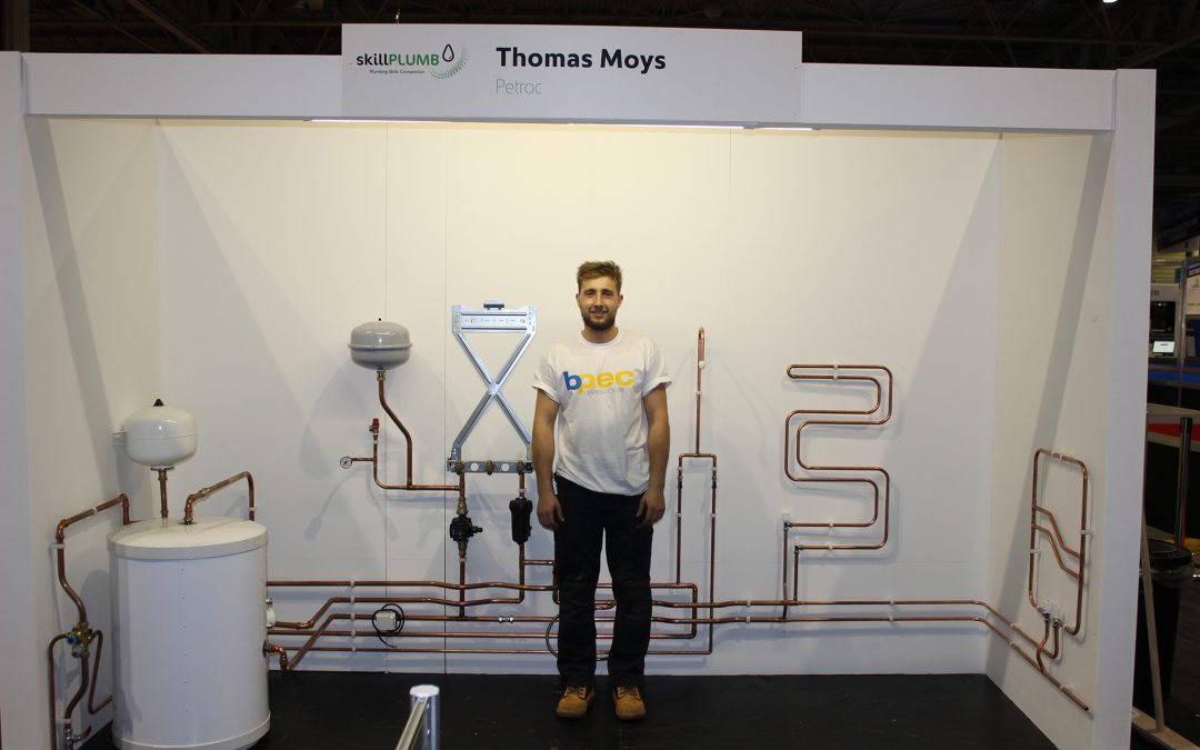 Petroc plumbing apprentice wins bronze at national final