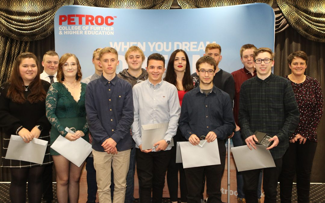 Top Petroc students awarded at annual LHTS ceremony