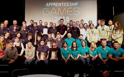 Region's best companies return to battle at Apprenticeship Games