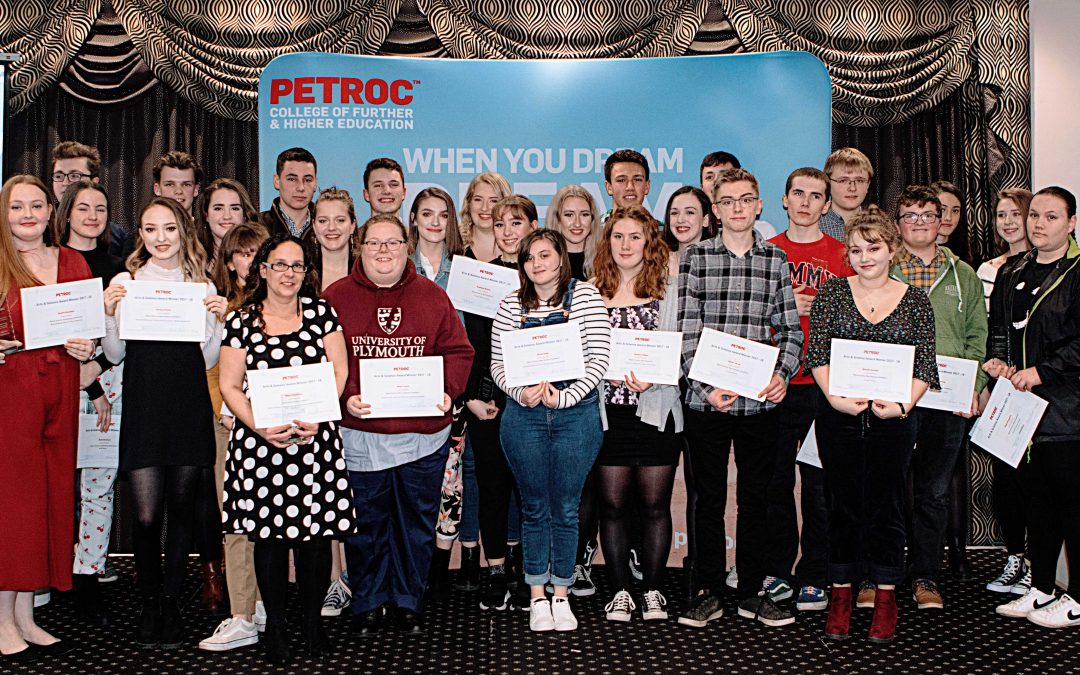 Outstanding students recognised at Petroc's annual Arts & Science presentation evening
