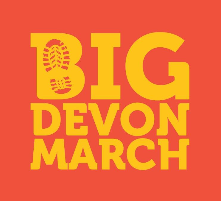 The Big Devon March is back for 2019!