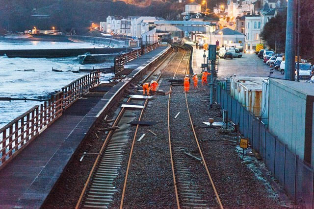 Immediate step to protect vital railway 'artery' in the south west to start in November