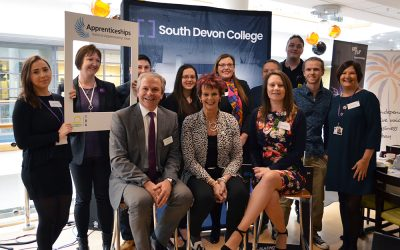 South Devon College welcomes Minister of State for Apprenticeships and Skills