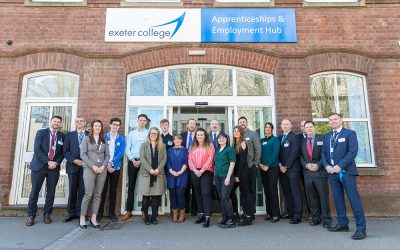 Exeter College Officially Opens New Apprenticeships and Employment Hub