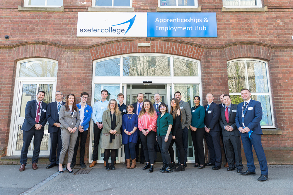 Exceptional Exeter Tops Apprenticeship Table – Bucking National Trend