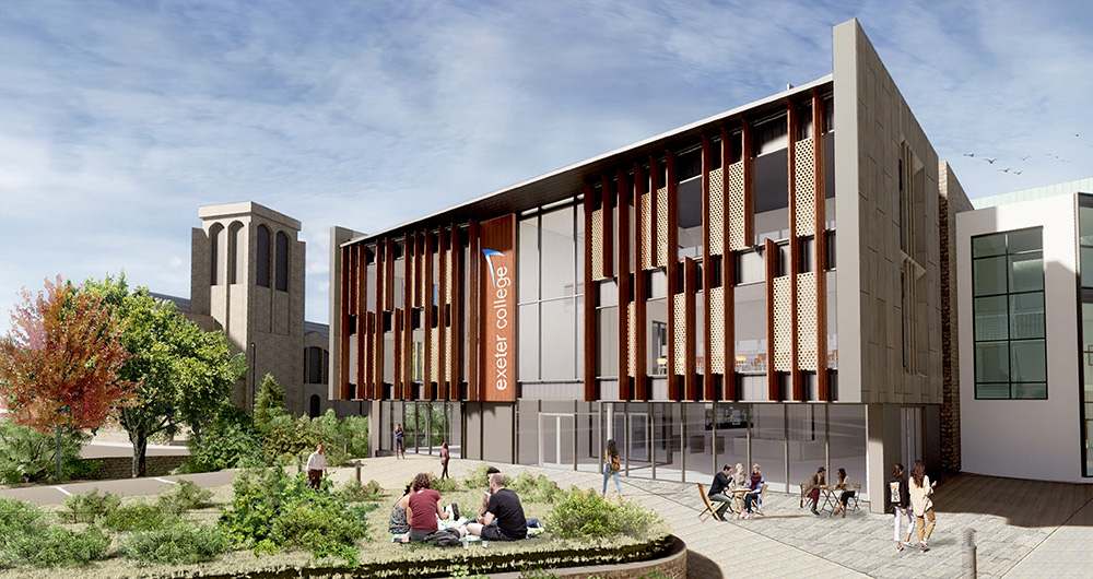 Exeter College celebrates multi-million pound collaborative bid success for new Institute of Technology for the South West