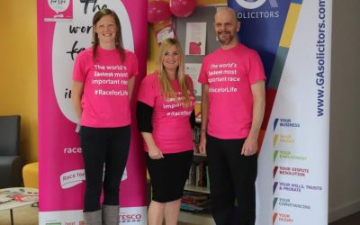 GA Solicitors to partner Race for Life events in Plymouth