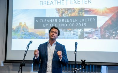 Devon businesses celebrate initiative to make Exeter a global leader in low vehicle emissions