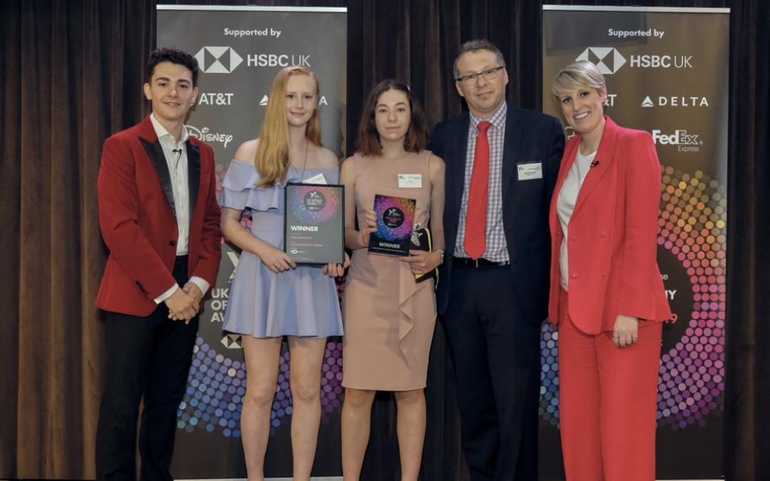 Newquay Tretherras students win National Enterprise award for sustainability