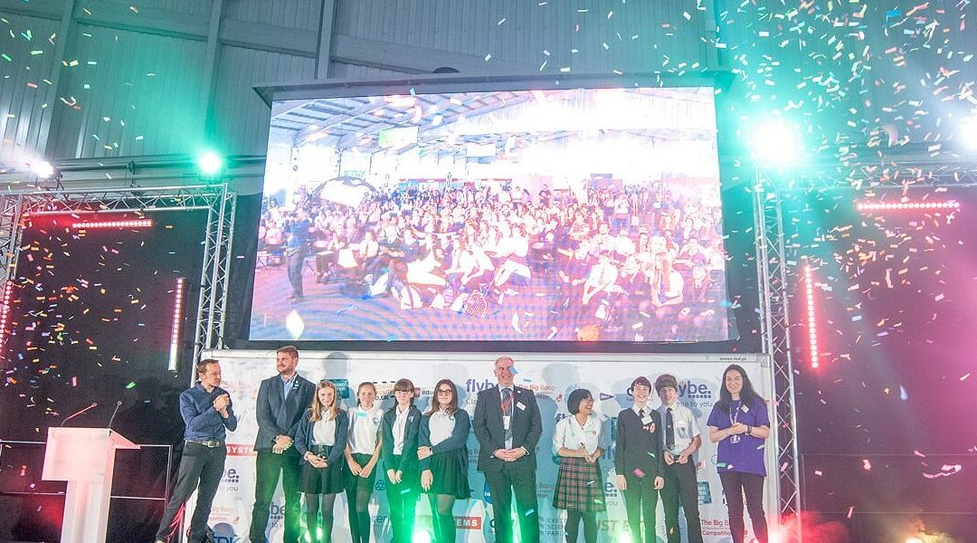 Thousands of Students Create a Big Bang in Exeter
