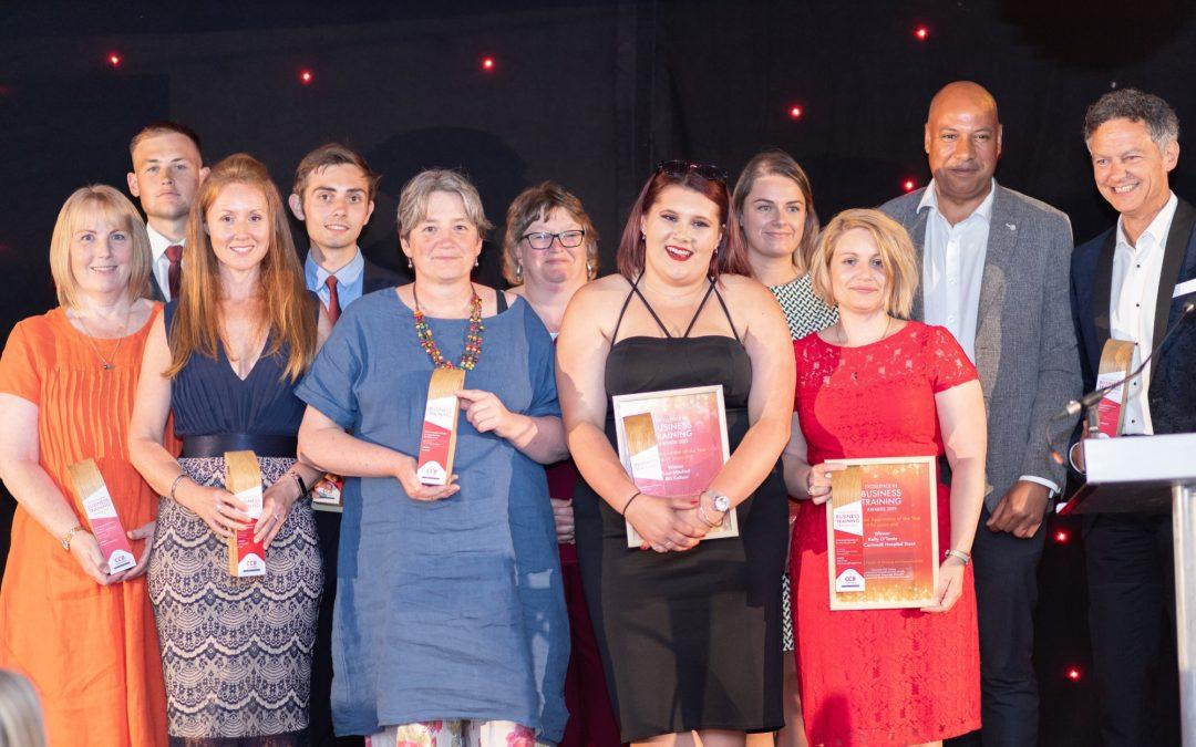 Triumphant night for region's businesses and apprentices at EBTAs