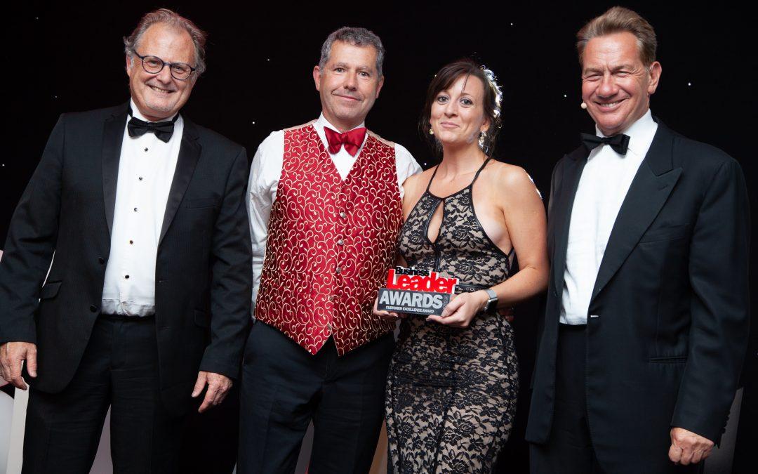 BCR Associates win Business Leader Customer Excellence Award