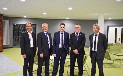 Secretary of State for Education, Gavin Williamson, meets with education providers at South Devon College