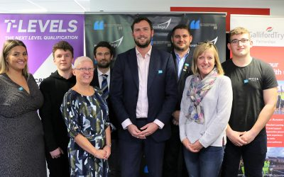 Galliford Try Partnerships First to Benefit from Employer Fund for T Levels