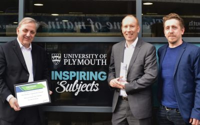 Plymouth's rail partnership and tech whizzes team up to win national award