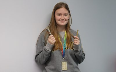 Student's pen business inspired by College experience day