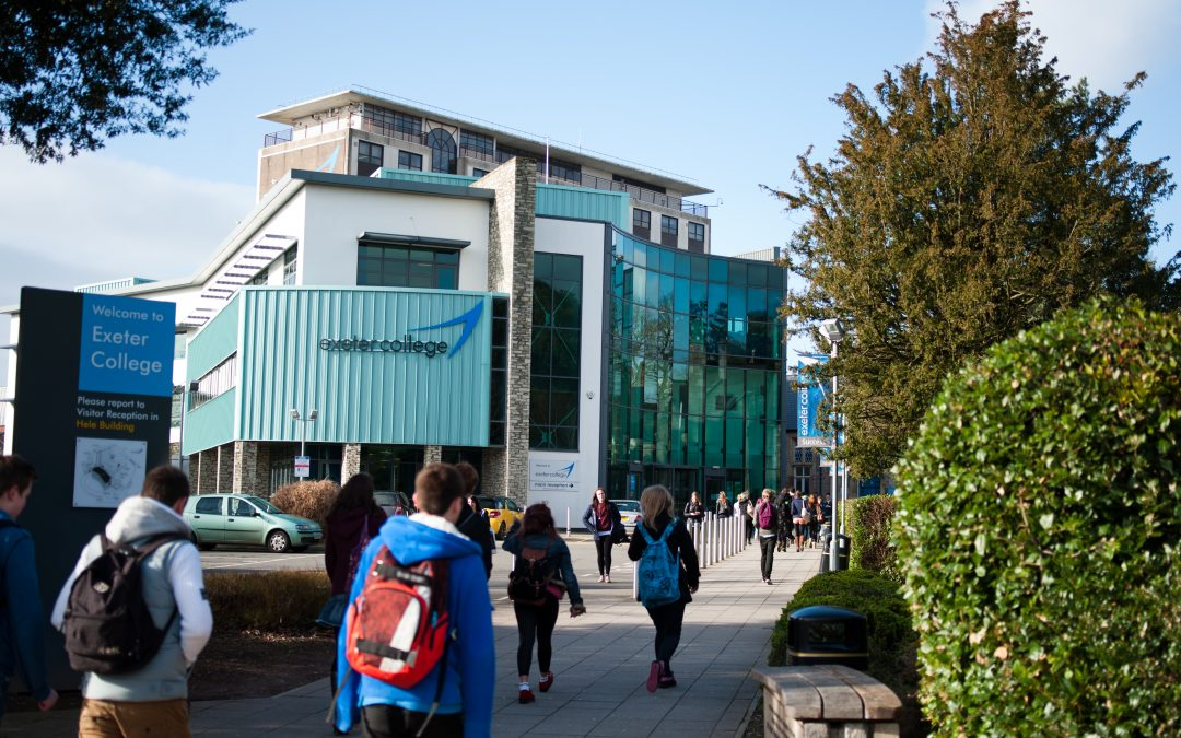 Exeter College Flying High in NICDEX 2019 Rankings