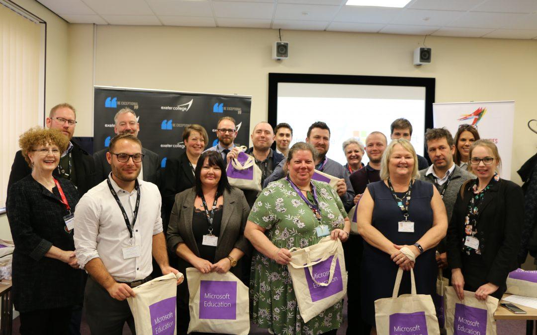 Exeter College Celebrates Microsoft Innovative Educators