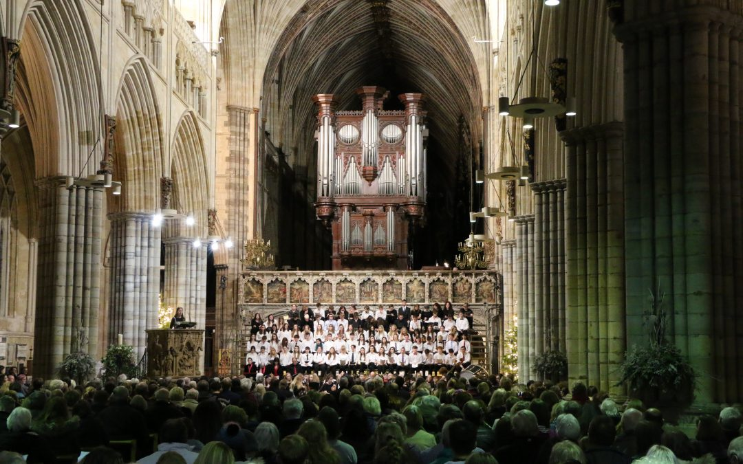 Exeter College Festival of Carols Raises Money for Charities