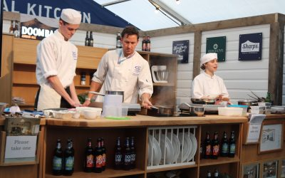 Chef students rise to occasion on festival stage