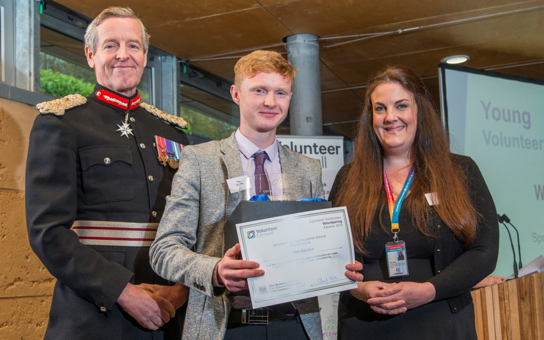 Surprise nomination leads to Young Volunteer Award win