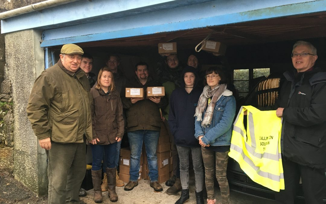 Helping feed people in need over the festive season