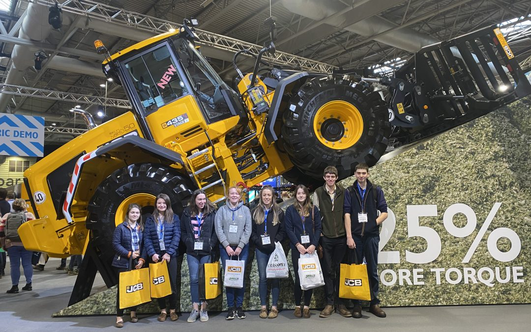 Students upskill at largest indoor agricultural event