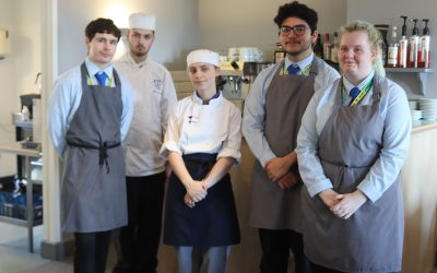 Students cook up a storm supporting Cornwall Hospice Care