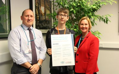 College signs mental health charter