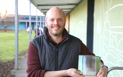 Coveted Green Gown Award for Exeter College Student