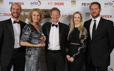 South Devon College wins national apprenticeship award