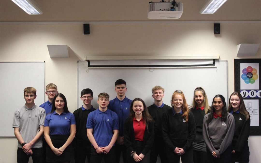 STUDENTS FROM BALCARRAS CROWNED SOUTH WEST BEST COMPANY AT YOUNG ENTERPRISE REGIONAL FINAL
