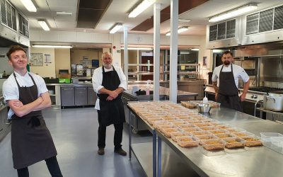 City College helps provide tasty meals to frontline NHS staff