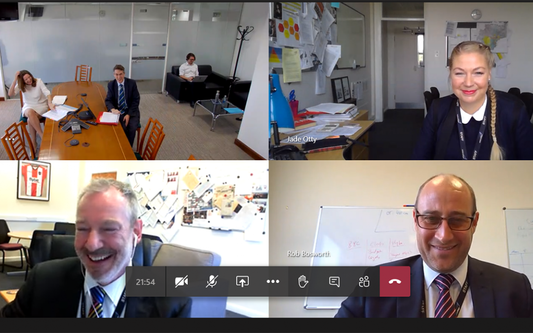 Ministers take part in virtual tour of Exeter College