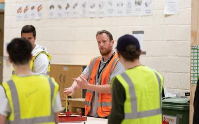 Exeter College's Construction Centre extension welcomes new T Level students