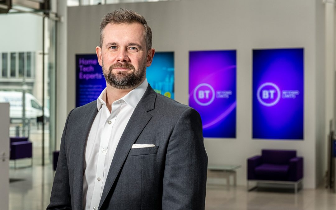 BT appoints Jon Pollock as director of its Enterprise business in the South of England and Wales