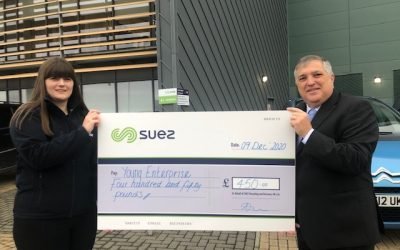 SUEZ helps Cornish students to thrive through Young Enterprise