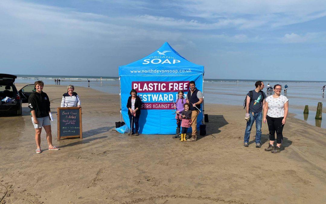 Beach Cleans 4 Beach Toys On Westward Ho! Beach