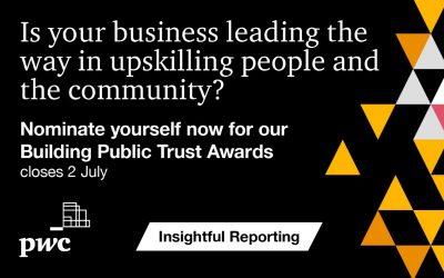 Launching PwC's inaugural Upskilling Reporting Award