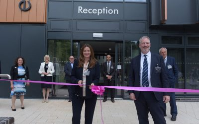 Minister Gillian Keegan Officially Opens £10.3million Institute of Technology Digital and Data Centre