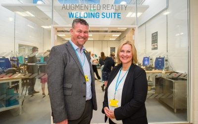 City College Plymouth Opens New Futuristic Augmented Reality Welding Suite
